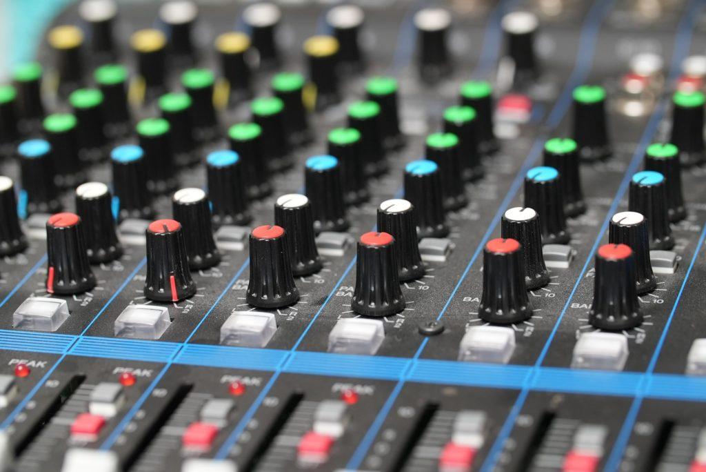 Audio recording & mixing